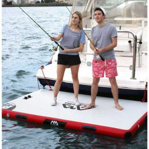 Bè bơm hơi Aqua Marina ISLAND Lifestyle