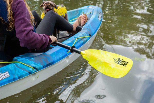 "Mái chèo kayak Pelican Poseidon Aluminum 226cm 89"" Lifestyle"